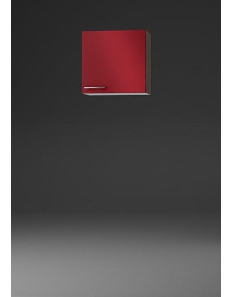 Wandkast Imola signaal rood  (BxHxD) 50 x 57,6 x 34,6 cm KIT-529