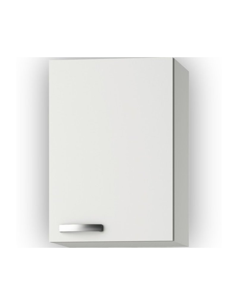 Wandkast Lagos White Glans (BxHxD) 40 x 57,6 x 34,6 cm KIT-441