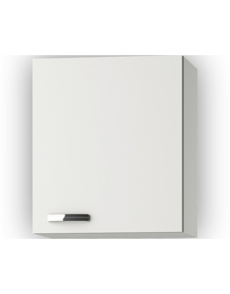 Wandkast Lagos White Glans (BxHxD) 50 x 57,6 x 34,6 cm KIT-30