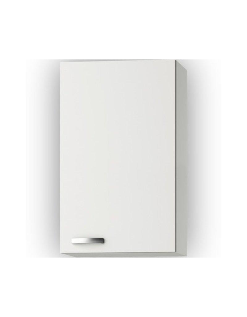 Wandkast Lagos White Glans (BxHxD) 50 x 89,6 x 34,6 cm KIT-541