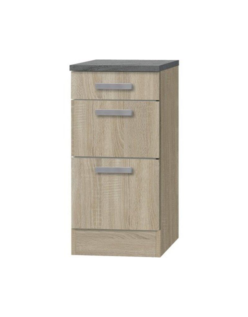 Kabinet Napels acacia-Decor (BxHxD) 40,0x84,8x60,0 cm KIT-00119