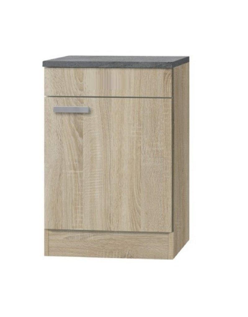 Kabinet Napels acacia-Decor (BxHxD) 50,0x84,8x60,0 cm KIT-990