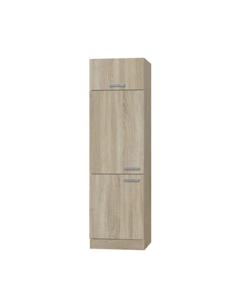 Device wijziging kabinet Napels acacia-Decor (BxHxD) 60,0x206,8x57,1 cm KIT-7233