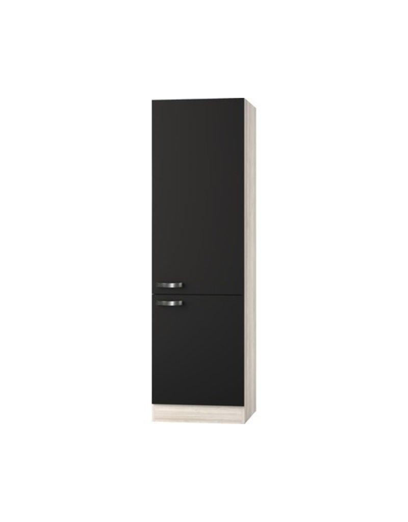 Hoge kast Faro Antraciet (BxHxD) 60,0x206,8x57,1 cm KIT-188