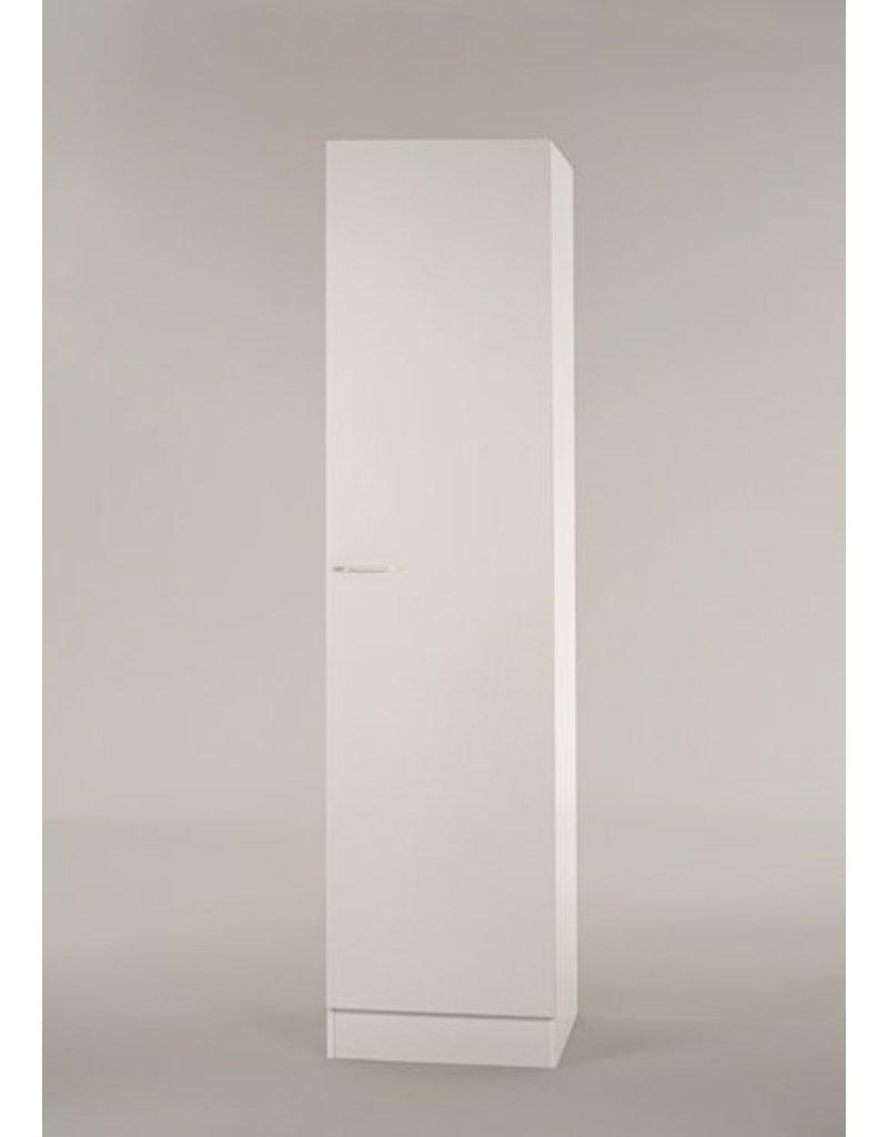 Hoge kast Klassiek 50 Wit met planken 50cm x 206,8 H500-6-KIT-57