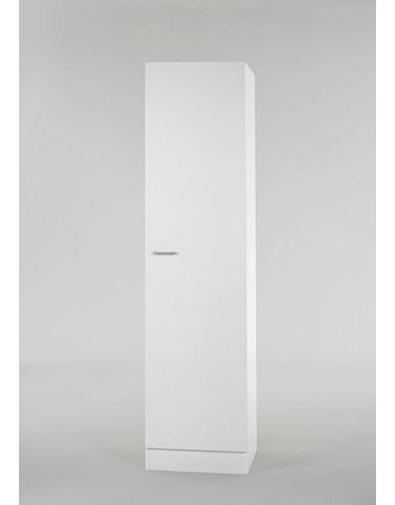Hoge kast Klassiek 60 Wit met planken 50cm x 206,8 H500-6-KIT-57