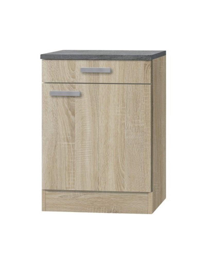 Kabinet Napels acacia-Decor (BxHxD) 60,0x84,8x60,0 cm HRF-195