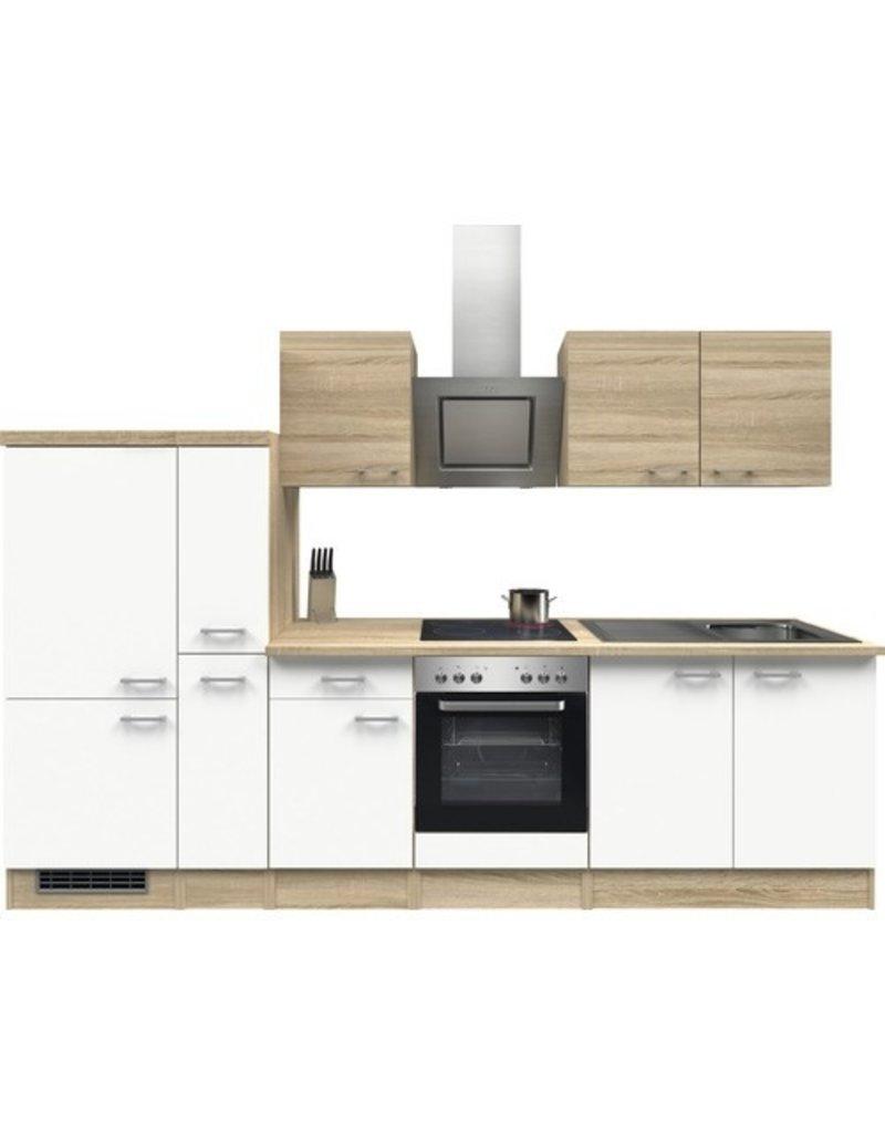Keuken Sonoma Wit 300cm KIT-01149