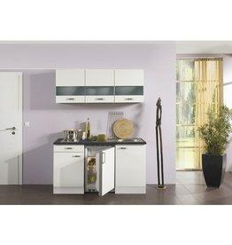Kitchenette Lagos wit hoogglans 150cm KIT-125