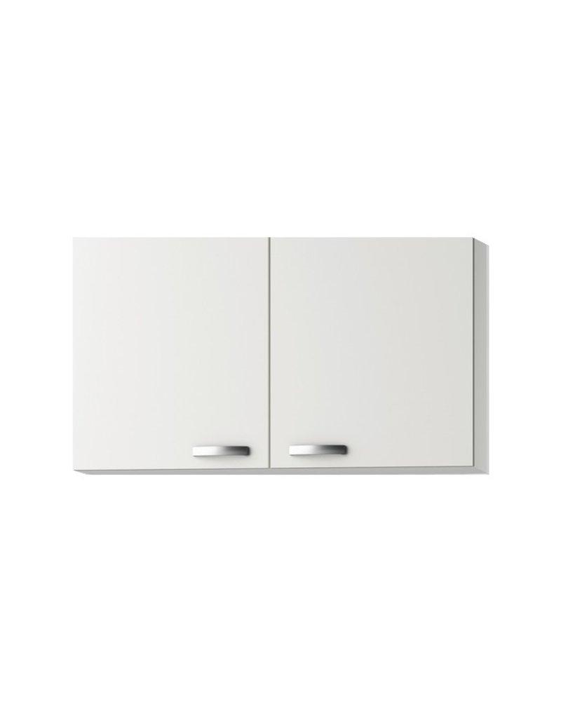 Wandkast Lagos White Glans (BxHxD) 100 x 57,6 x 34,6 cm KIT-341