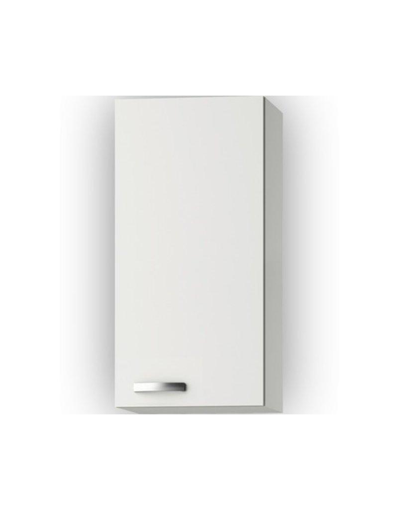 Wandkast Lagos White Glans (BxHxD) 40 x 89,6 x 34,6 cm KIT-741