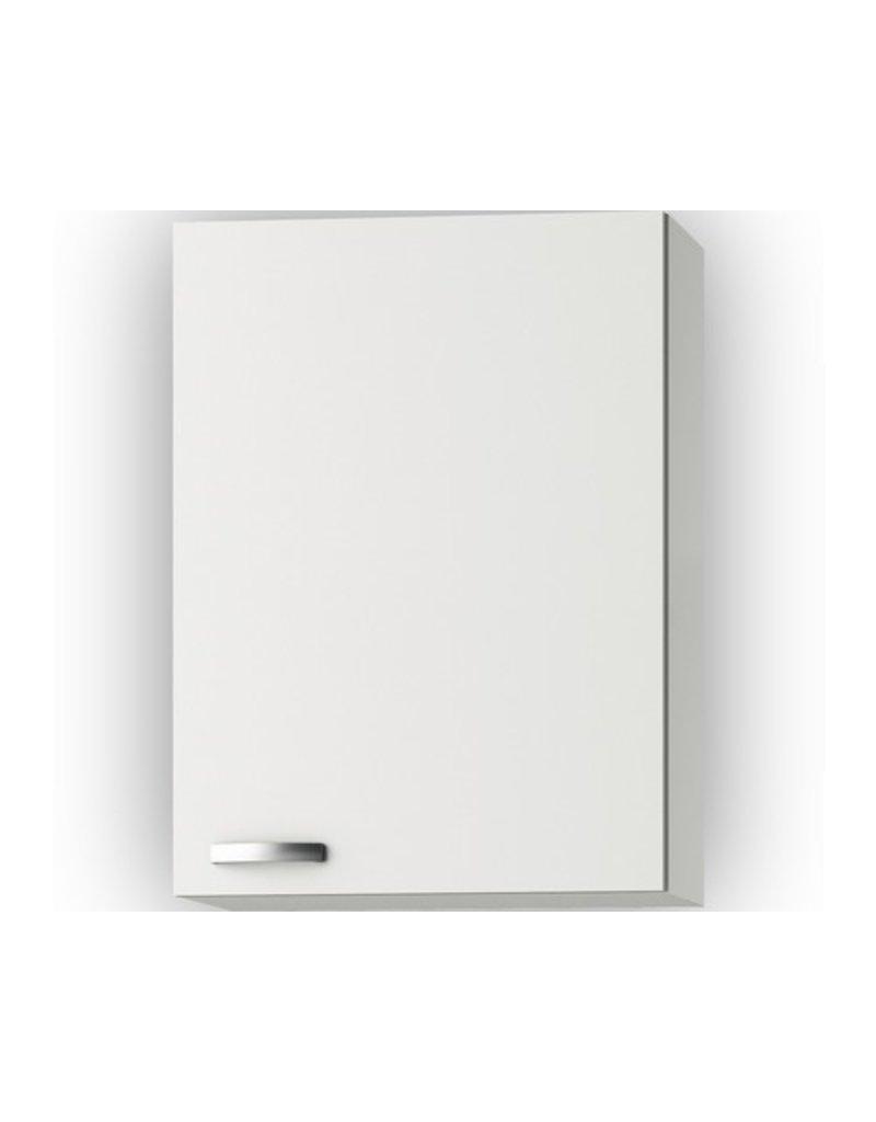 Wandkast Lagos White Glans (BxHxD) 60 x 89,6 x 34,6 cm KIT-41