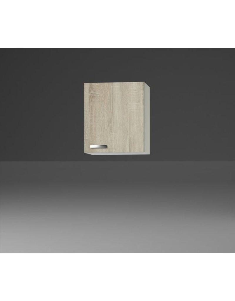 Wandkast Padua licht eiken ruw (BxHxD) 50,0x84,8x60,0 cm KIT-193