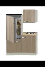 Keukenblok Padua 120cm incl. koelkast KIT-1389