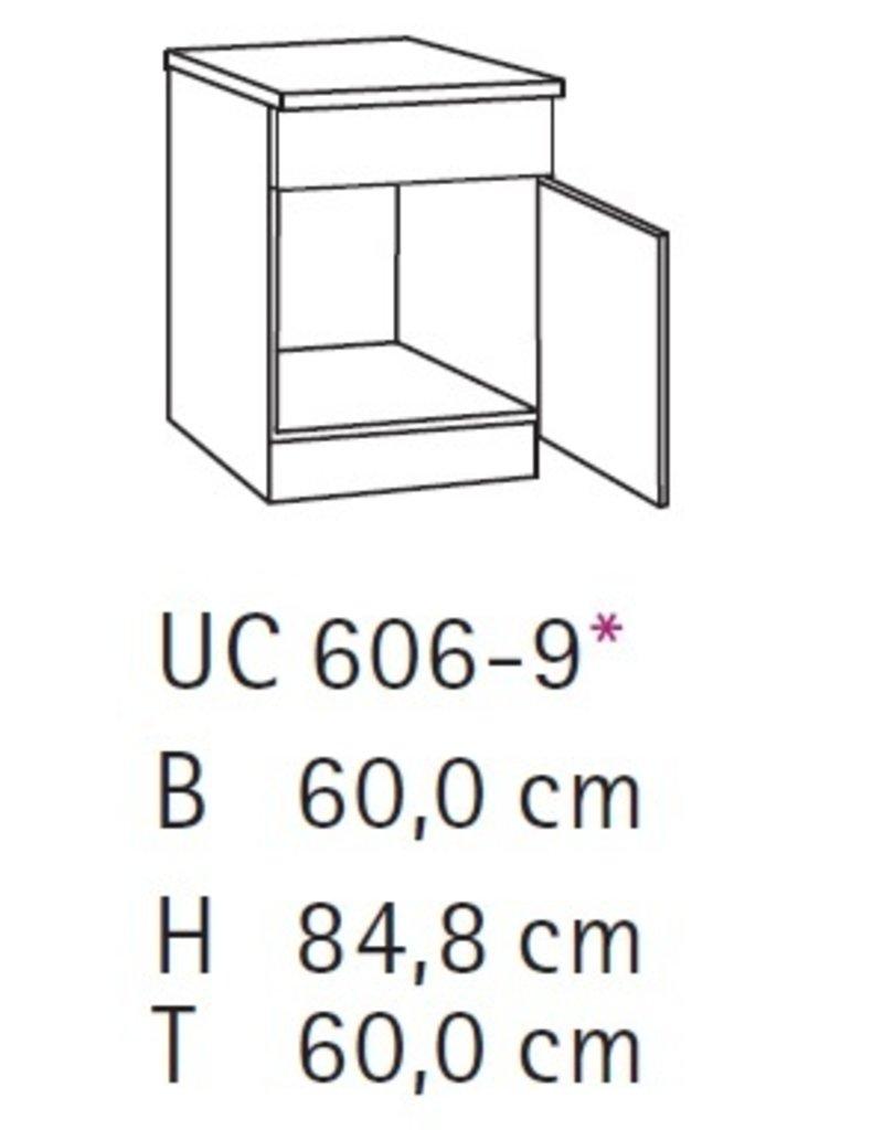 Spoelonderkast 60cm SPLO606-9