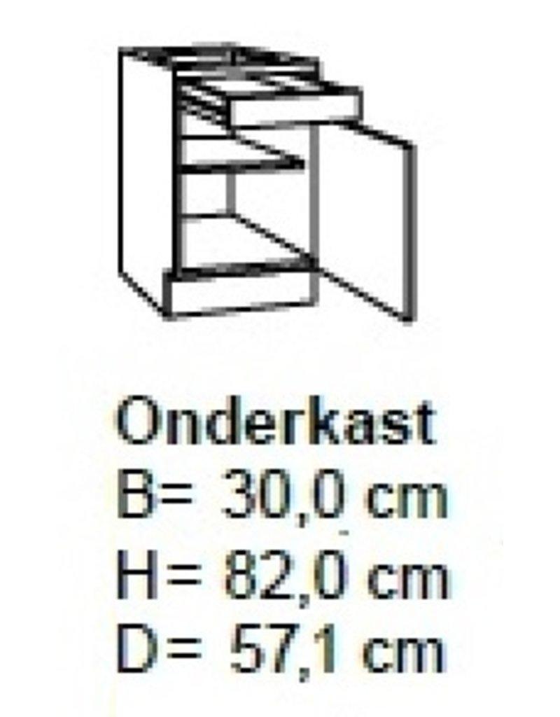 Onderkast 30cm UO306-9