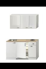 Kitchenette 140 CM incl inbouw app en bovenkasten 2100-10