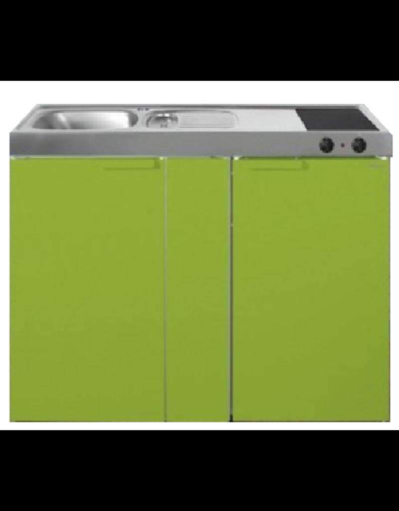 MK 120B Groen met koelkast  KIT-95390