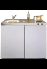 ME 100 wit met koelkast en elek kookplaat KIT-9533