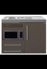 MPM 100 Bruin met koelkast en magnetron KIT-9512