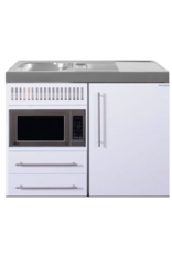 MPM 100 Wit met koelkast en magnetron KIT-9514