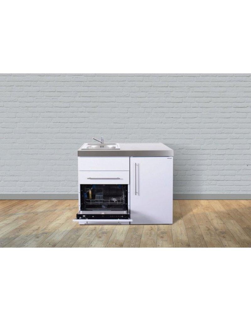 MPGS 110 Wit met vaatwasser en koelkast KIT-9521