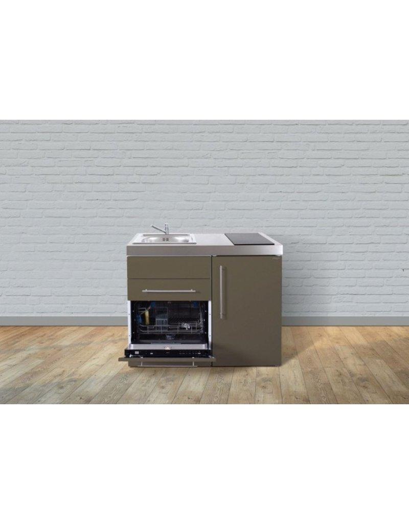 MPGS 110 Bruin met vaatwasser en koelkast KIT-9523