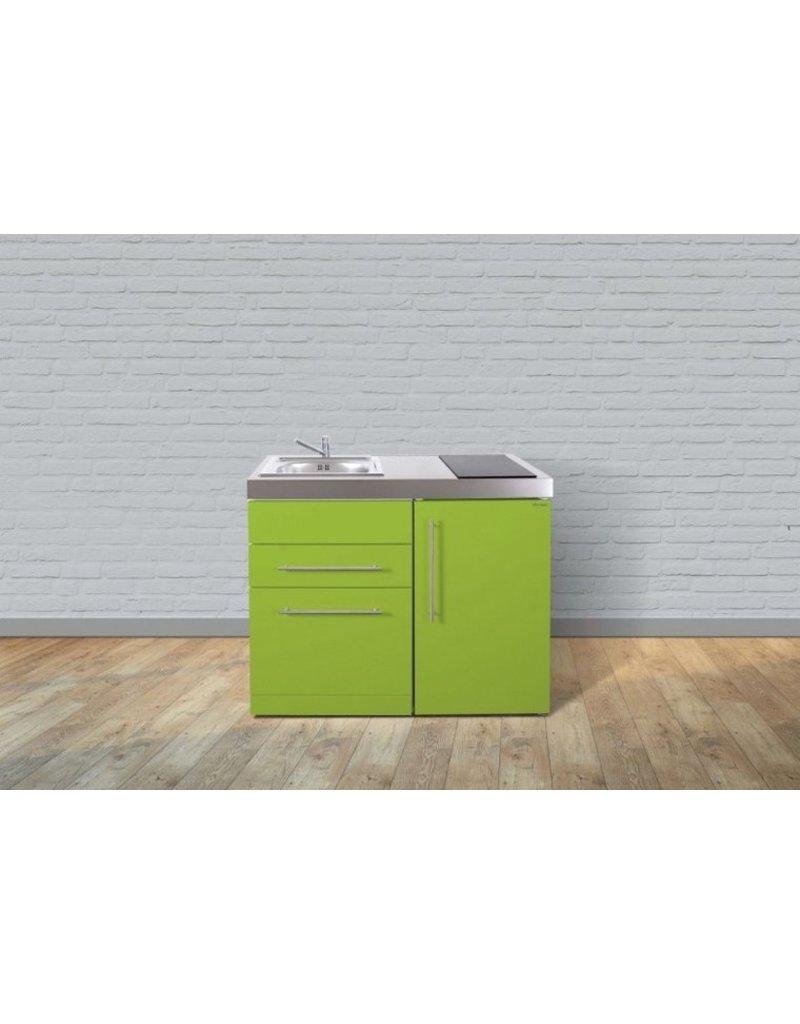 MPGS 110 Groen met vaatwasser en koelkast KIT-9523