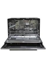 MPGS 110 Zwart mat met vaatwasser en koelkast KIT-9524