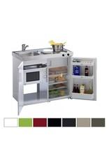 MKM 100 Wit met koelkast en losse magnetron KIT-9572