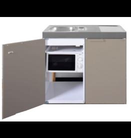 MKM 100 Zand met koelkast en losse magnetron KIT-9574