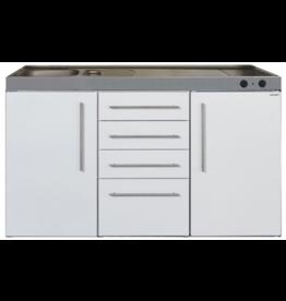 MPS4 150 Wit met koelkast en 4 ladekasten KIT-9531