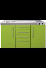 MPS4 150 Groen met koelkast en 4 ladekasten KIT-9535