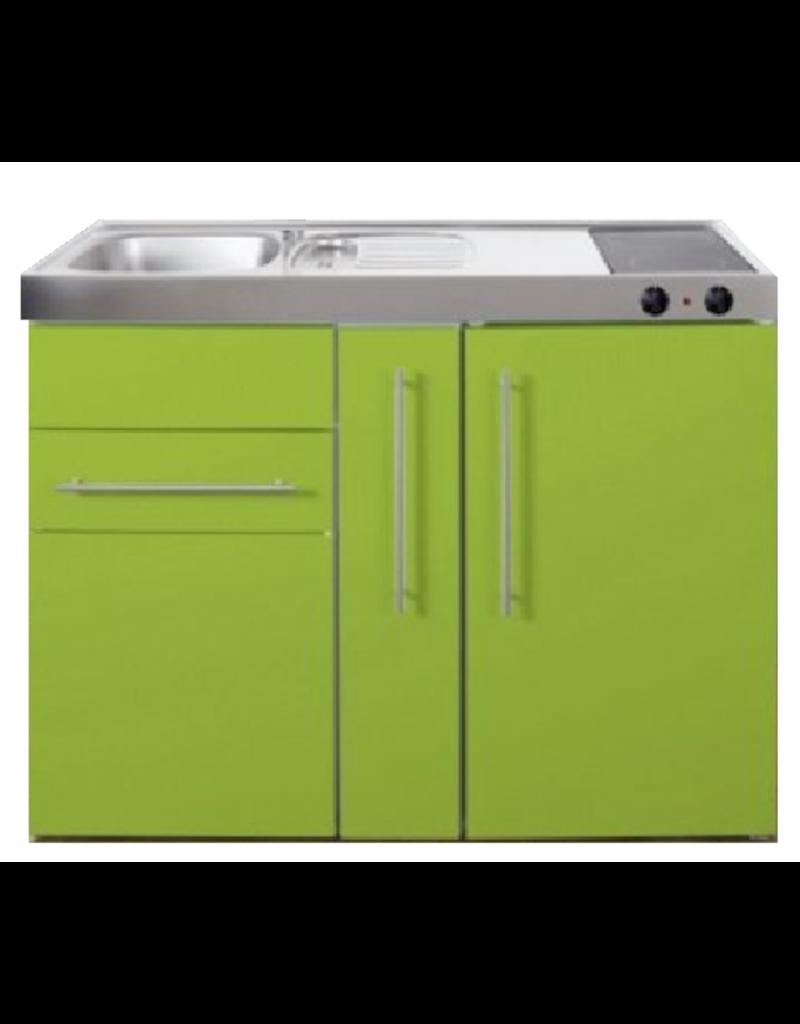 MP 120A Groen met apothekers la en koelkast KIT-9513