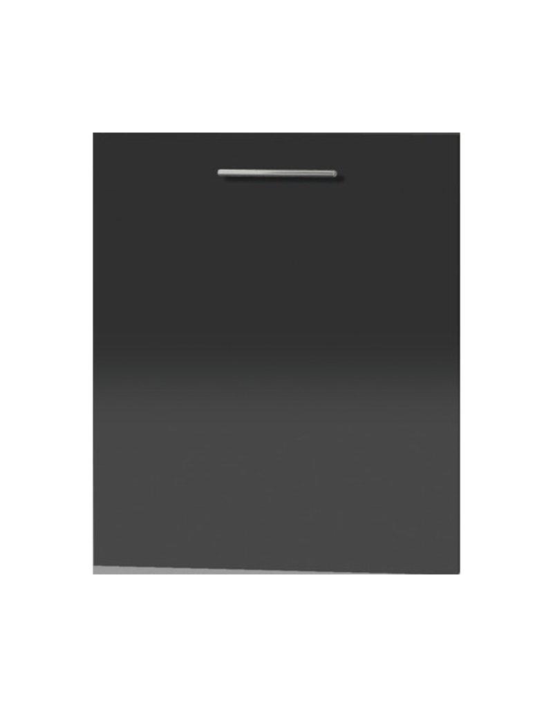 Voorklep voor volledig geïntegreerde vaatwasser Arne Antraciet hoogglans 59,6x70,0x58,4 cm KIT-3423