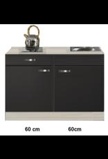 Keukenblok Antraciet 120cm KIT-510