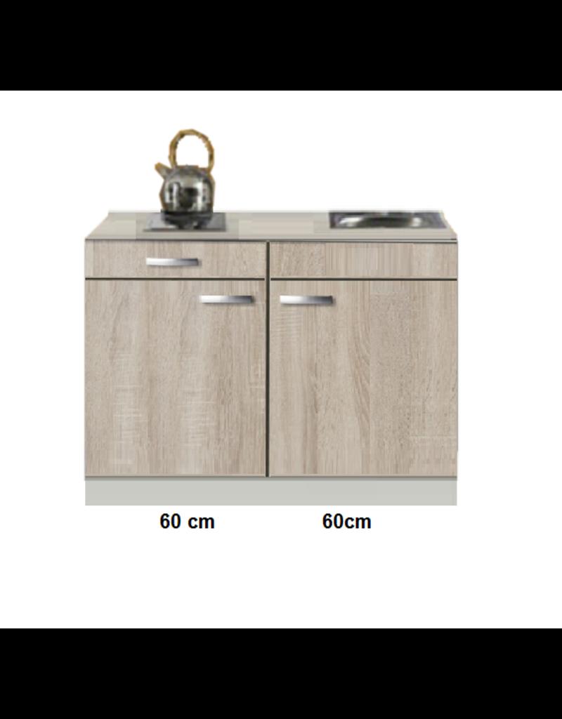 Keukenblok Padua houtnerf 120cm KIT-511