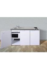 MKM 150 Wit met  losse magnetron en koelkast KIT-333