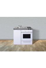 MKB 100 Wit met  oven KIT-95411
