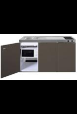 MKM 150 Bruin met  losse magnetron en koelkast KIT-334