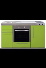 MPB 150 Groen met koelkast en oven KIT-935