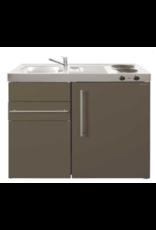 MK 90 Bruin met koelkast en een la KIT-9514
