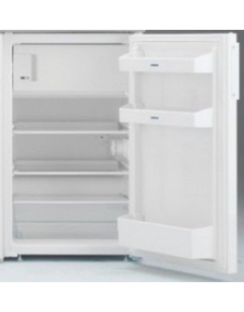 MK 90 Bordeauxrood met koelkast en een la KIT-9513