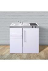 MK 90 Wit met koelkast en een la KIT-9511