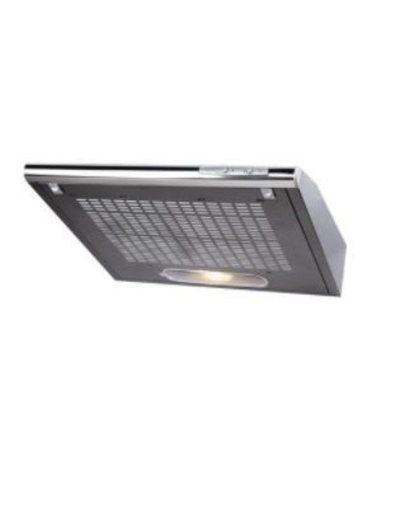 Keukenblok 180cm wit hoogglans incl gas-kookplaat, afzuigkap en magnetron KIT-11028