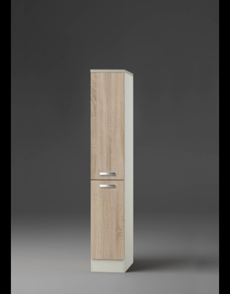 Kitchenette 130cm met apothekerskast KIT-4491