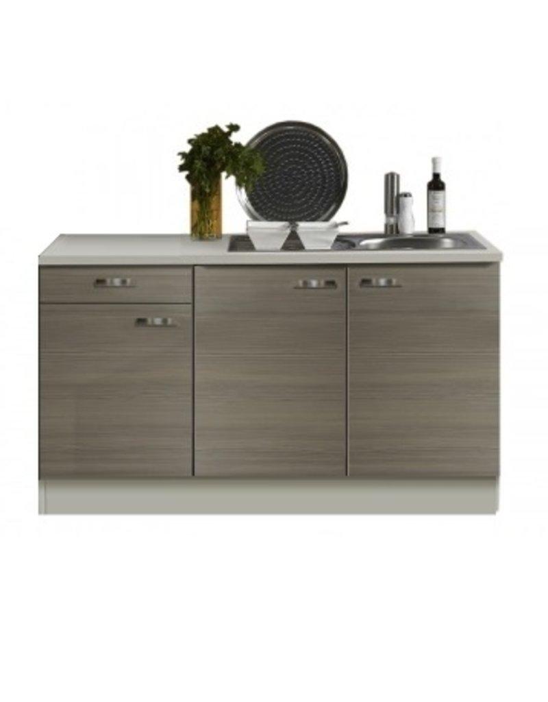 Keukenblok 150 grjs-bruin KIT-351