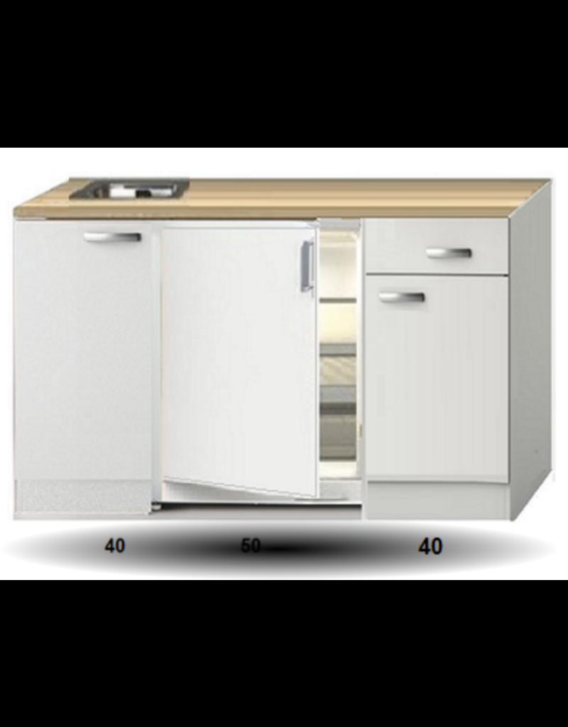 Kitchenette 130 CM incl koelkast KIT-2253