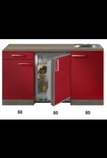 Kitchenette Rood Hoogglans 150cm KIT-5396