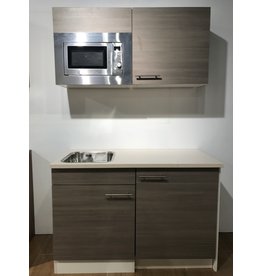 Kitchenette 120cm incl apparatuur KIT-7985